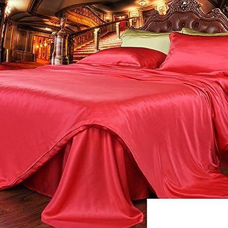 Pure Silk Bed Linen Thick Seamless Silk Bed Mikasa K 240x260cm 94x102inch