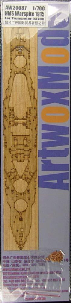 Art Wadsworth box model 1/700 Ship for Wooden Deck Royal Navy Battleship HMS Warspite for 1915 for Pit AW2087 by Artworx model