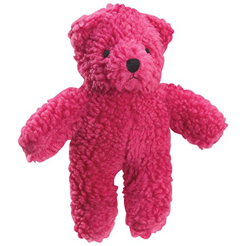 Zanies Berber Bear Dog Toys, Red