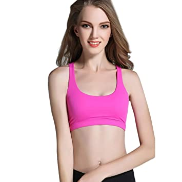 335aadb613767 Amazon.com   Women Sports Bra Sexy Crop Bustier Strapless Comfortable Nursing  Tank Tops (L
