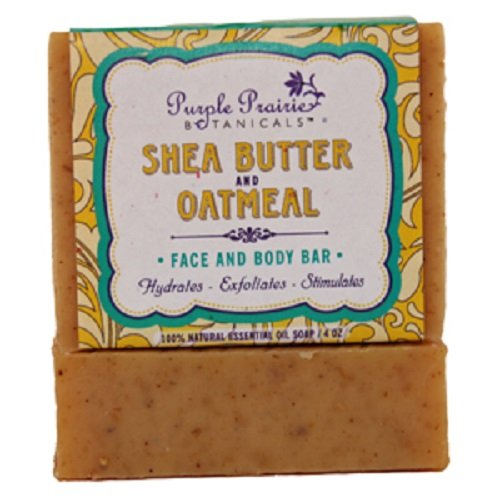 Shea Butter & Oatmeal Soap Bar - 3 Pack