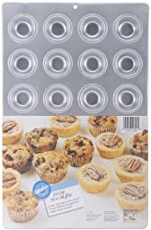 Wilton Aluminum 24-Cup Mini Muffin Pan