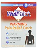 WellPatch Warming Pain Relief Heat Patch, 4 large ...