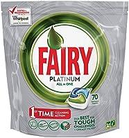 Fairy-Platinum Todo en Uno Lavavajillas 70 Tablets
