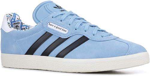 adidas Men's Gazelle Super HAGT BlueWhite G54785: