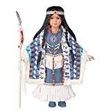 Women's Izel Native American Collectible Porcelain Doll