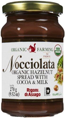 (Nocciolata Organic Hazelnut Spread, 9.52)