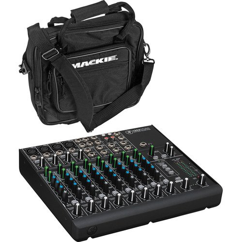 Mackie 1202VLZ4 12-Channel Compact Mixer with 1202VLZ Bag