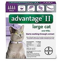 Advantage II Monthly Flea Treatment - Large Cat - 4 ct