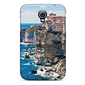 Durable Protector Case Cover With Corsica On The Rocks Hot Design For Galaxy S4