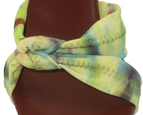 Donald J Pliner Mujer Cirila Tobillera Correa Cactus Tie Dye Mesh