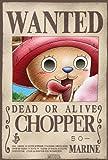 """ONE PIECE - Poster """"Wanted Chopper"""" (98x68) roulé filmé"""