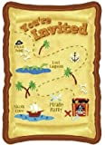 Pirate Party Invitations (Package of 8 Invitations)
