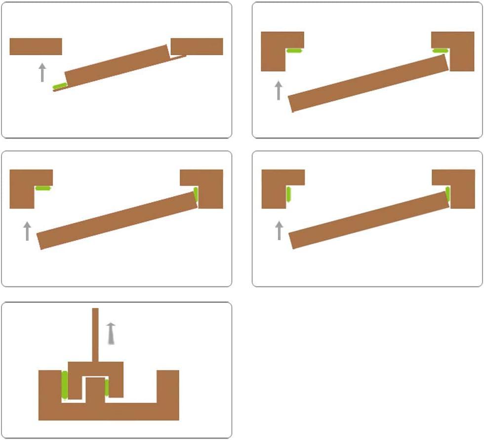 Mintice 10 m/ètres mousse auto-adh/ésif autocollant joint de porte fen/être bande d/étanch/éit/é en caoutchouc d/écapage int/érieur anti collision Type E blanc