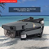 Aterox DJI Mavic Pro / Platinum Gimbal Lock Camera Guard Protector Transport Fixed Lens Cover Accessories (Transparent Gray)