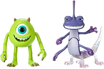 Amazon Com Disney Pixar Mike And Randall Action Figure Set By Toybox Monsters Inc Toys Games