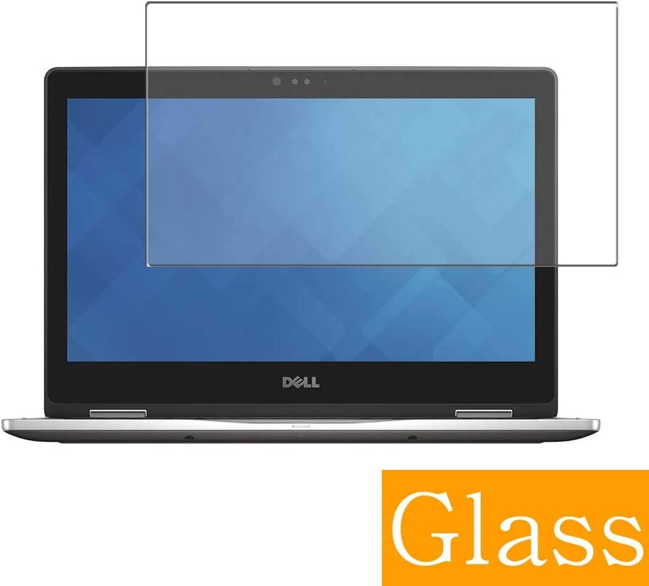 "Synvy Tempered Glass Screen Protector for Dell Inspiron 13 7000 (7375) 2-in-1 13.3"" Visible Area Protective Screen Film Protectors 9H Anti-Scratch Bubble Free"
