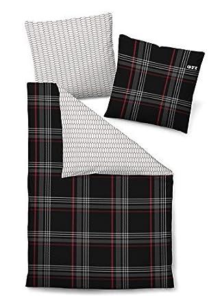 vw logo bettw sche my blog. Black Bedroom Furniture Sets. Home Design Ideas