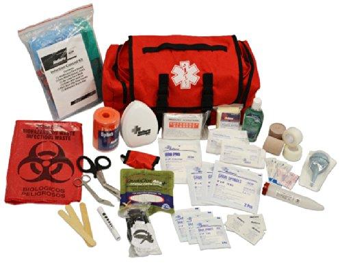 MedSource Fully Stocked Highway Patrol Medical Cab Bag Pack
