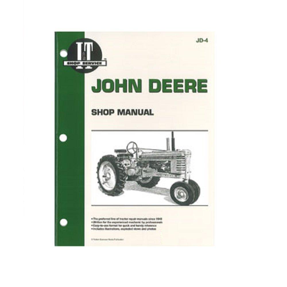 Smjd4 Itjd4 Jd 4 Jd4 New Shop Manual For John Deere 4320 Wiring Schematic Tractor A B D G H M Mt Industrial Scientific