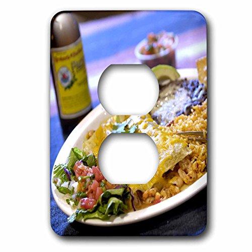 Danita Delimont - Cuisines - Shrimp Enchilada, Mexican cuisine Destin, Florida - US10 FVI0006 - Franklin Viola - Light Switch Covers - 2 plug outlet cover - Destin Outlet Florida