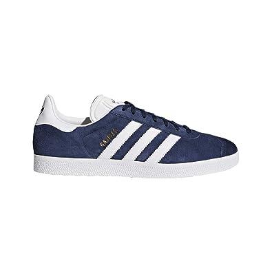 e36f9739 Adidas Originals Men's Gazelle Lace-up Sneaker,Collegiate Navy/White/Gold  Met