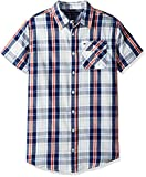 #5: Tommy Hilfiger Short Sleeve Plaid Woven Shirt