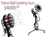 The Orginal T-shirt Launcher - Stress Ball Gatling Gun -