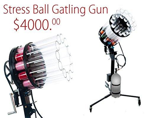 The Orginal T-shirt Launcher - Stress Ball Gatling Gun - by The Orginal T-shirt Launcher