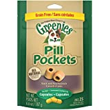 GREENIES PILL POCKETS Soft Dog Treats, Grain Free Duck & Pea, Capsule, 6.6 oz.