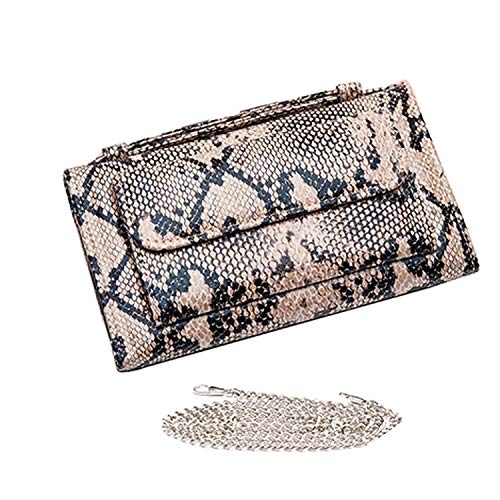 Luxury Genuine Python Leather Hand Bags Cross Body Shoulder Bag Snakeskin Designer Day Clutch Chain Crossbody Bag,Snake