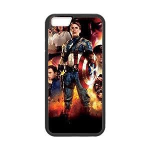 iPhone 6 Plus 5.5 Inch Phone Case Captain America FJ39158