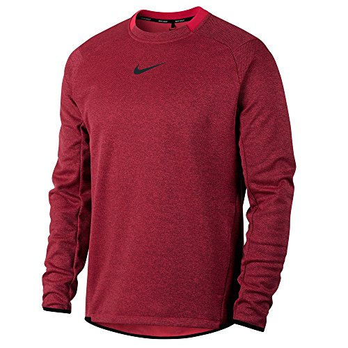 (Nike Therma Fit Top Golf Pullover 2017 Siren Red/Black X-Large)