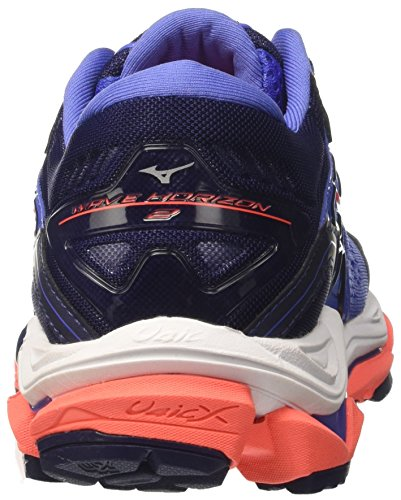 Blue Fierycoral 2 WOS Running Wave Women's 55 Mizuno Bajablue Patriotblue Horizon Shoes nqtw07xfzA