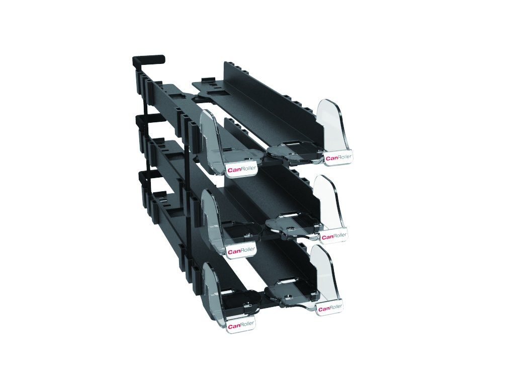 CanRoller 500mm Gr/ö/ßenverstellbarer Getr/änkehalter mit Nachf/üllsystem