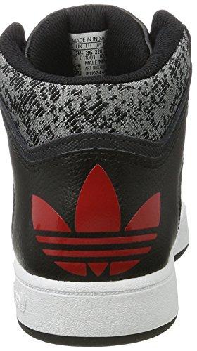 Adidas Originali Mens Mensili Medi Mid Trainers Us5 Nero