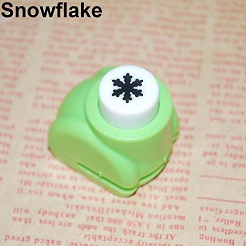 Ameesi Kid Craft DIY Scrapbook Cards Making Paper Shaper Mini Hole Punch Cutter Toy - Snowflake
