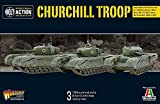 Bolt Action Warlord Games, Churchill Troop, Wargaming Miniatures