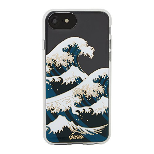 Sonix Tokyo Wave Clear Coat Cell Phone Case [Military Drop Test Certified] Sonix Clear Case Series for Apple iPhone 6/iPhone 6s/iPhone 7/iPhone 8 ()