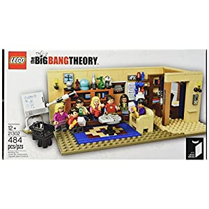 LEGO Ideas The Big Bang Theory 21302 Building Kit - 51ArDcCoN 2BL - LEGO Ideas The Big Bang Theory 21302 Building Kit