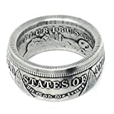 The King of Coin Rings Handmade From a1921 US Morgan Silver Coin Size 10