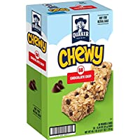 58-Count Quaker Chewy Chocolate Chip Granola Bars (0.84 Oz)