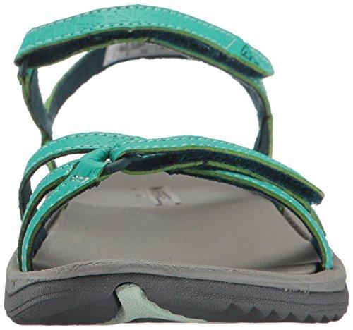 Merrell Ladies Enoki Sandalo Con 2 Cinturini Grigio (atlantis)