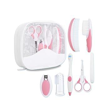 Higiene 10PCS Estuche de cuidados y salud para bebe GZQES Cuida del bebe,Color Azar