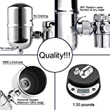 Engdenton Faucet Water Filter Stainless-Steel