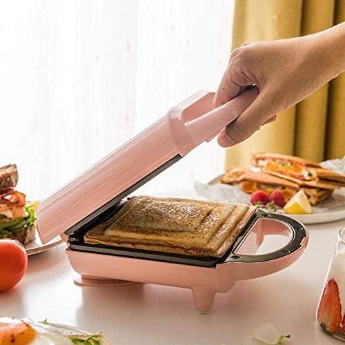Sandwich Maker Toastie avec machine Sandwich Accueil petit déjeuner Machine entièrement automatique Maker Waffle JIAJIAFUDR