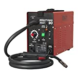 Sealey MIGHTYMIG90 90 A Professional No-Gas MIG Welder, 240 V, Red/Black