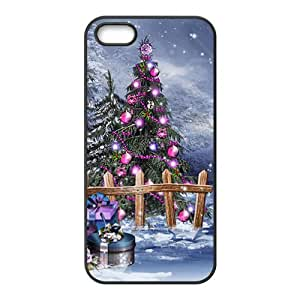 The Gifts Under Christmas Trees Hight Quality Plastic Case for Iphone 5s