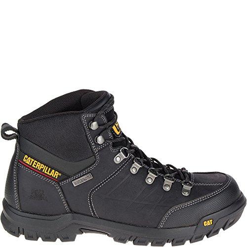 Caterpillar Men's Threshold Waterproof Industrial Boot, Black, 7.5 M US