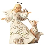 Jim Shore Heartwood Creek Fig Woodland Angel/Animals Figurine